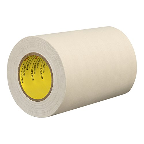 "TapeCase 175-50"" X 60YD White Cloth/Rubber Adhesive Single Coated Cotton Tape, 0.0105"" Thick, 60 yd. Length, 50"" Width from TapeCase"