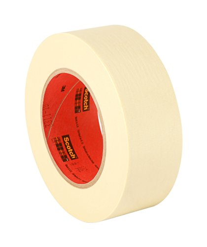 "TapeCase 203 2"" x 55M(PK-2) General Purpose Masking Tape Converted from 3M 203, 2"" x 55 m Roll, Tan (Pack of 2) from 3M"