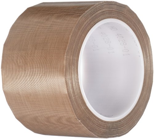 TapeCase 3-36-5451 5451 3in X 36yd Brown PTFE/UHMW Tape from 3M