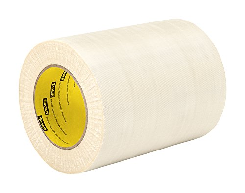 "TapeCase 361 9"" x 60yd White Glass Cloth/Silicone 3M 361 Adhesive Electrical Tape, -65 degrees F to 450 degrees F, 60 yd Length, 9"" Width from 3M"