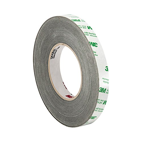 "TapeCase 3M AB5010 0.52"" x 15M Black Acrylic Adhesive EMI Absorber, 0.52"" x 16.4 yd from 3M"