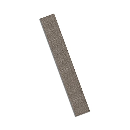 "TapeCase 3M CN3190 0.5"" x 7""-250 Grey Nickel on Copper-Plated Polyester Fabric Tape, 7"" Length, 0.5"" Width, Rectangles (Pack of 250) from 3M"