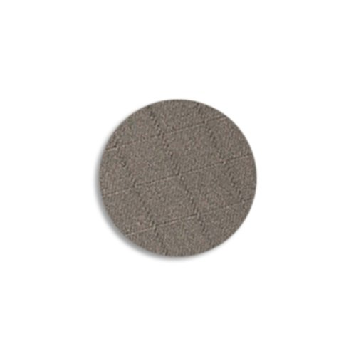 "TapeCase 3M CN3190 CIRCLE-1""-250 Grey Nickel on Copper-Plated Polyester Fabric Tape, 1"" Length, 1"" Width, Circles (Pack of 250) from 3M"