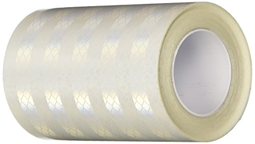 TapeCase 4-5-3430 3430 4in X 5yd White Reflective Tape (1 Roll) from 3M