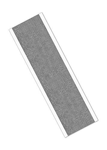 "TapeCase 438 2"" x 10.5""-25 Silver High Temperature Heavy Duty Aluminium/Acrylic Adhesive Foil Tape, 2"" x 10.5"" Rectangles, 0.0072"" Thickness, 10.5"" Length, 2"" Width (Pack of 25) from 3M"