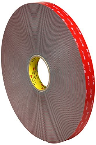 "TapeCase 4991 2"" x 8""-6 3M Acrylic Foam Tape Converted from 3M VHB 4991, 2"" x 8"" (Pack of 6) from TapeCase"