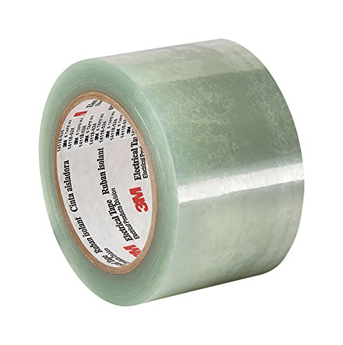 "TapeCase 5 2.5"" x 72yd Translucent Clear Polyester Electrical Tape, 2.5"" Thick, 72"" Length, 2.5"" Width from 3M"