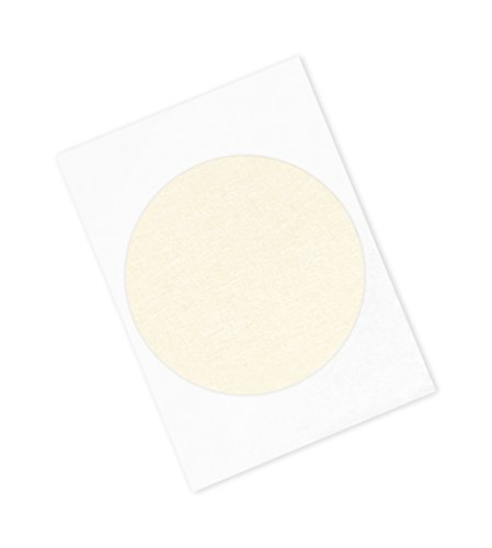 "TapeCase 501+ CIRCLE-5.750""-100 501+ CIRCLE-5.75""-100 High Temperature Masking Tape Converted from 3M 501+, 5.75"" Circles, Crepe Paper, Tan (Pack of 100) from 3M"