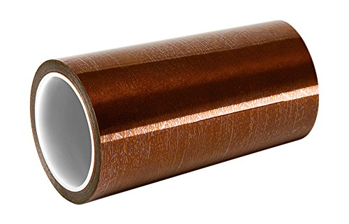 "TapeCase 5433 11"" x 36yd Amber Low Static Polyimide Film Tape, Converted from 3M, -100 to 500 degrees F Performance Temperature, 0.0027"" Thick from 3M"