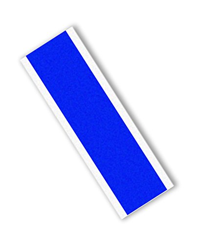 "TapeCase 8902-0.75"" x 4""-500 Blue Polyester/Silicone Adhesive Tape Converted from 3M 8902, Rectangles, 400 degrees F, 4"" Length, 0.75"" Width (Pack of 500) from 3M"