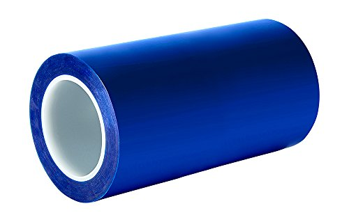 "TapeCase 8902 10"" x 72yd Blue Polyester/Silicone Adhesive Tape Converted from 3M 8902, 400 degrees F, 72"" Length, 10"" Width from TapeCase"