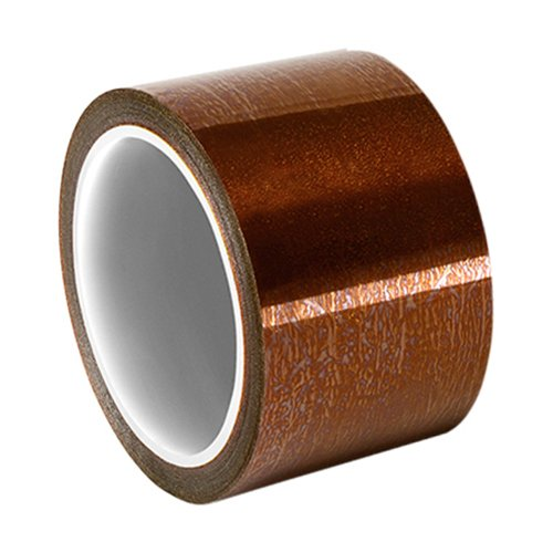 "TapeCase BL-2.75"" x 36yd Amber Polyimide/Silicone Tape with Silicone Adhesive, Low Static, 36 yd. Length, 2.75"" Width from TapeCase"