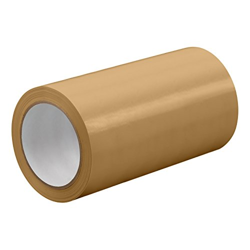 "TapeCase TC414-24"" X 72YD-TAN Tan UPVC/Rubber Adhesive Film Tape, 0.0023"" Thick, 72 yd. Length, 24"" Width, 1 Roll from TapeCase"