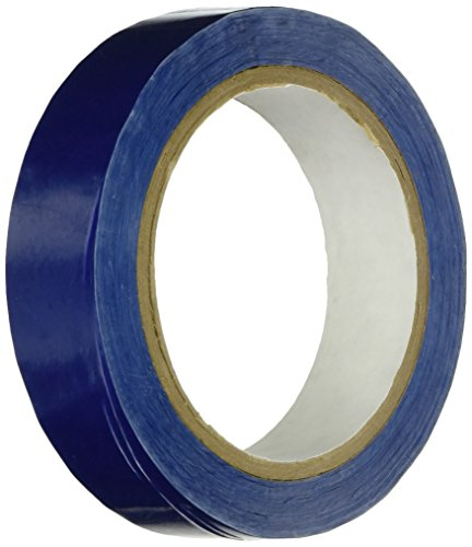 "TapeCase TC414-30"" X 72YD-DKBLUE Dark Blue UPVC/Rubber Adhesive Film Tape, 0.0023"" Thick, 72 yd. Length, 30"" Width, 1 Roll from TapeCase"