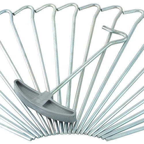 Target Homewares® 50Pc Heavy Duty 9  Tent Pegs | Galvanised Steel | FREE Tent  sc 1 st  Wunderstore & Sports - Tent Pegs: Find offers online and compare prices at ...