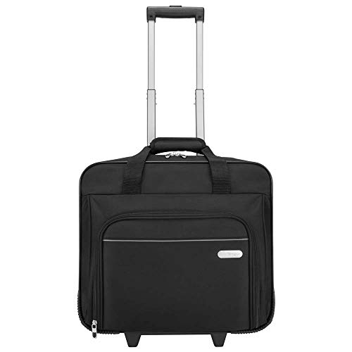 Targus Executive Premium Roller Bag Designed for Business Professional Travel and Commuter Briefcase fit up to 15.6-Inch, Black (TBR003EU) from Targus