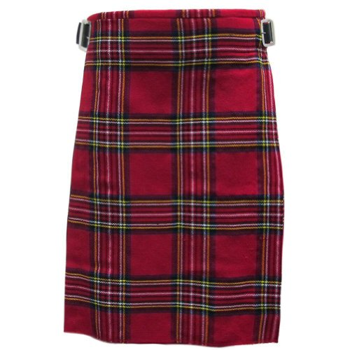 Mens Kilt Royal Stewart 5 Yard 10 oz 44 from Tartanista