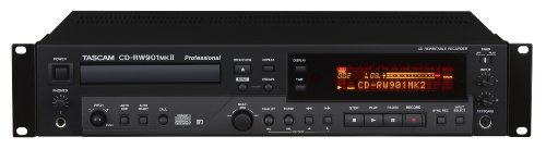 Tascam CD-RW901MKII Professional Audio CD Recorder from TASCAM