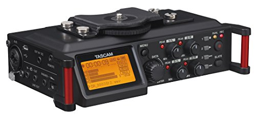 Tascam DR-70D - 4-channel audio recorder for DSLR cameras from TASCAM
