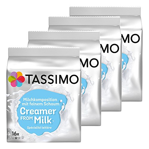 Tassimo Milk Creamer, Pack of 4, 4 x 16 T-Discs from Tassimo