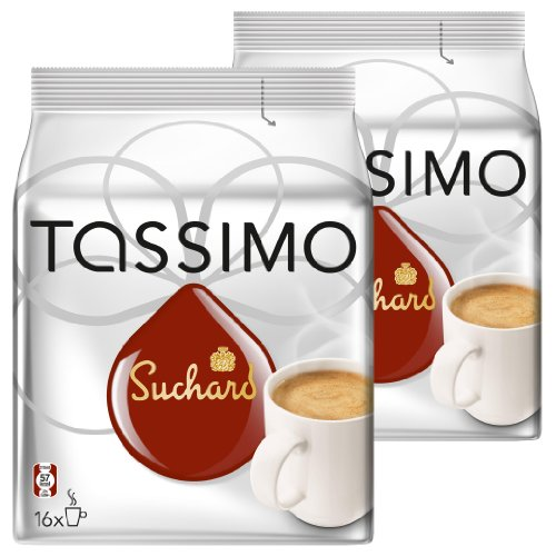 Tassimo Suchard Hot Chocolate, Pack of 2, 2 x 16 T-Discs from Tassimo
