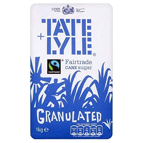 Tate & Lyle Fairtrade Granulated Pure Cane Sugar (1Kg) from Tate & Lyle's