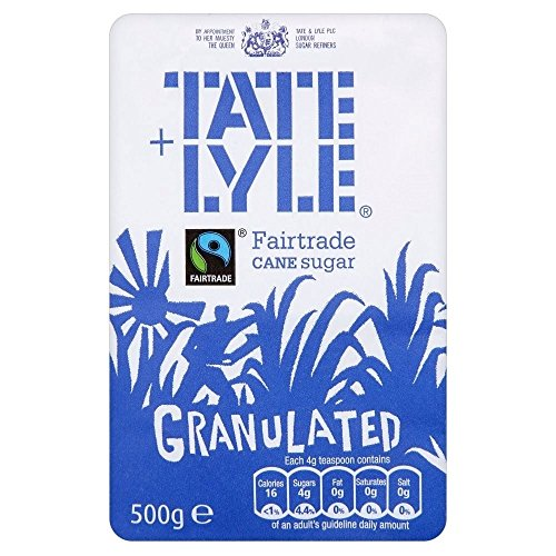 Tate & Lyle Fairtrade Granulated Pure Cane Sugar (500g) - Pack of 6 from Tate & Lyle's