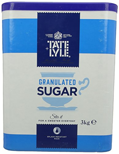 Tate and Lyle Fairtrade Granulated Pure Cane Sugar Drum with Handle 3 kg from Tate & Lyle's