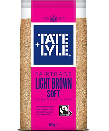Tate & Lyle Fairtrade Soft Brown Cane Sugar, 500g from Tate & Lyle's