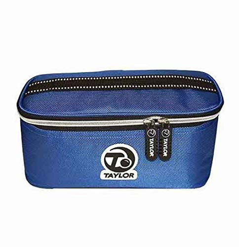 TAYLOR 2 BOWL BAG FOR CROWN OR FLAT GREEN BOWLS 337** (BLUE) from Taylor Bowls