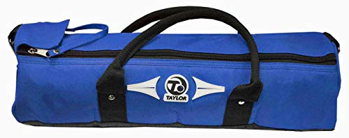 TAYLOR 4 BOWL CYLINDER BAG FOR CROWN OR FLAT GREEN BOWLS 387** (BLUE) from Taylor Bowls