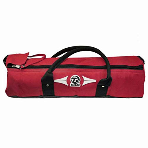 TAYLOR 4 BOWL CYLINDER BAG FOR CROWN OR FLAT GREEN BOWLS 387** (RED) from Taylor Bowls
