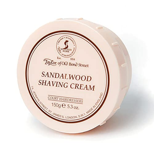 Taylor of Old Bond Street 150g Sandalwood Shaving Cream Bowl from Taylor of Old Bond Street