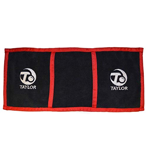 Taylor Bowls Grip Cloth Mitt (Black/Red) from Taylor