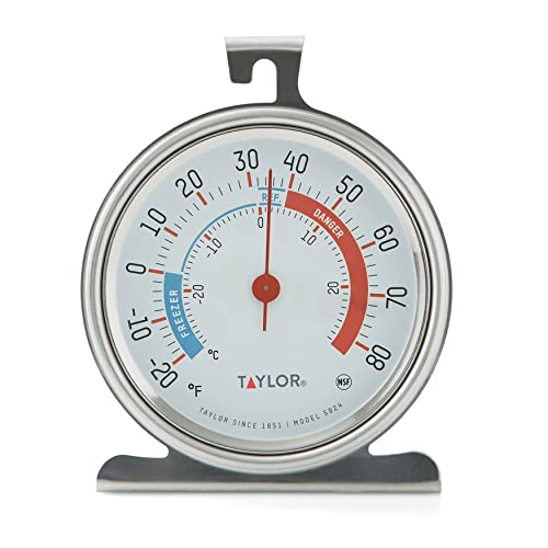 Taylor Classic Series Freezer Refrigerator Thermometer Large Dial NEW from Taylor