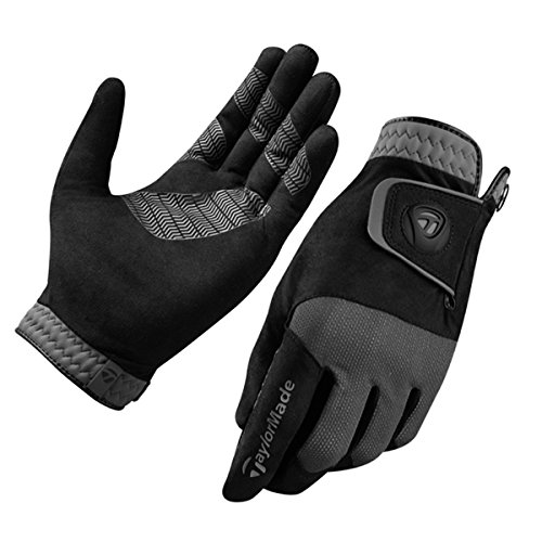 TaylorMade Men's Rain Control Golf Glove, Black, X-Large from TaylorMade