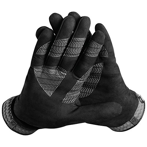 TaylorMade Men's TM18RainCntrlBlk/Gr XL Rain Control Glove (Black/Gray, X-Large) from TaylorMade