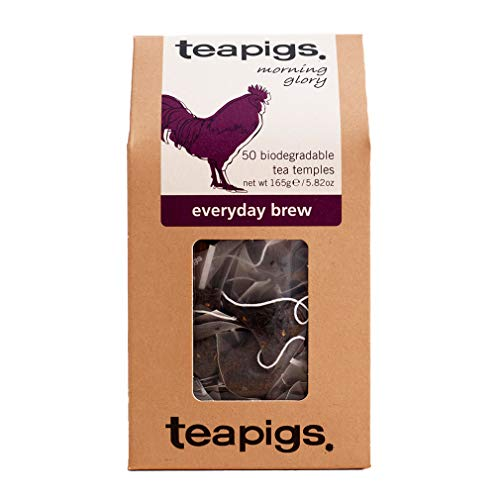 teapigs Everyday Brew 165 g (Pack of 1, Total 50 Tea Bags) from Teapigs