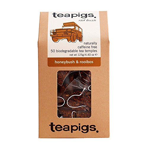 teapigs honeybush & Rooibos 50 Tea Temples from Tea Pigs