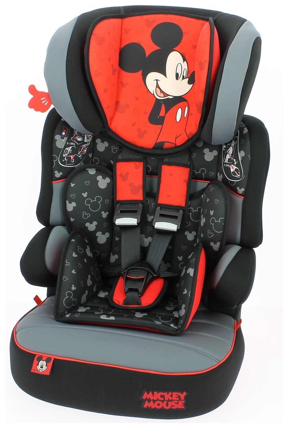 Team Tex Disney Beline Group 1/2/3 High Back Booster Seat from Team Tex