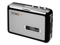 Technaxx DigiTape DT-01 Tape to MP3 Converter Black/Silver from Technaxx