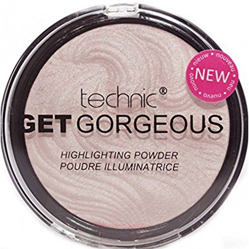 TECHNIC GET GORGEOUS HIGHLIGHTER Shimmer Compact Highlighting Shimmering Powder from Technic