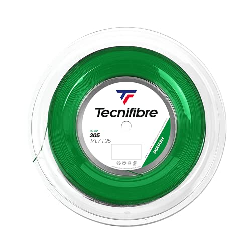 Tecnifibre 305 Squash Green 1,20 mm Squash String 200 m Roll 122372 from Tecnifibre