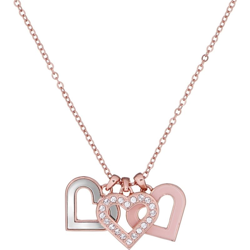 Ladies Ted Baker Ezzrela Enchanted Triple Heart Necklace from Ted Baker Jewellery