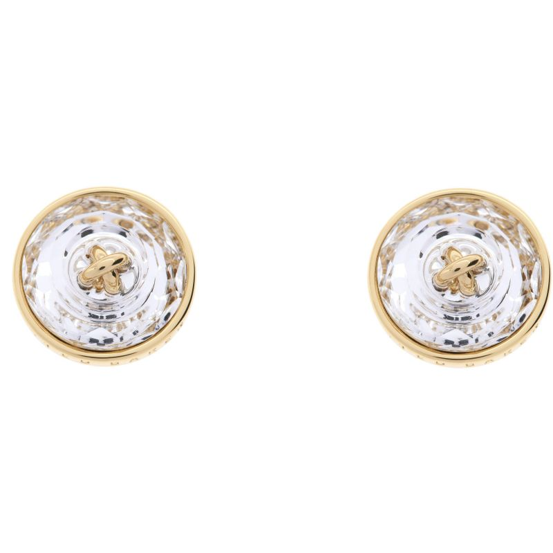Ladies Ted Baker Gold Plated Kinley Crystal Button Earring from Ted Baker Jewellery