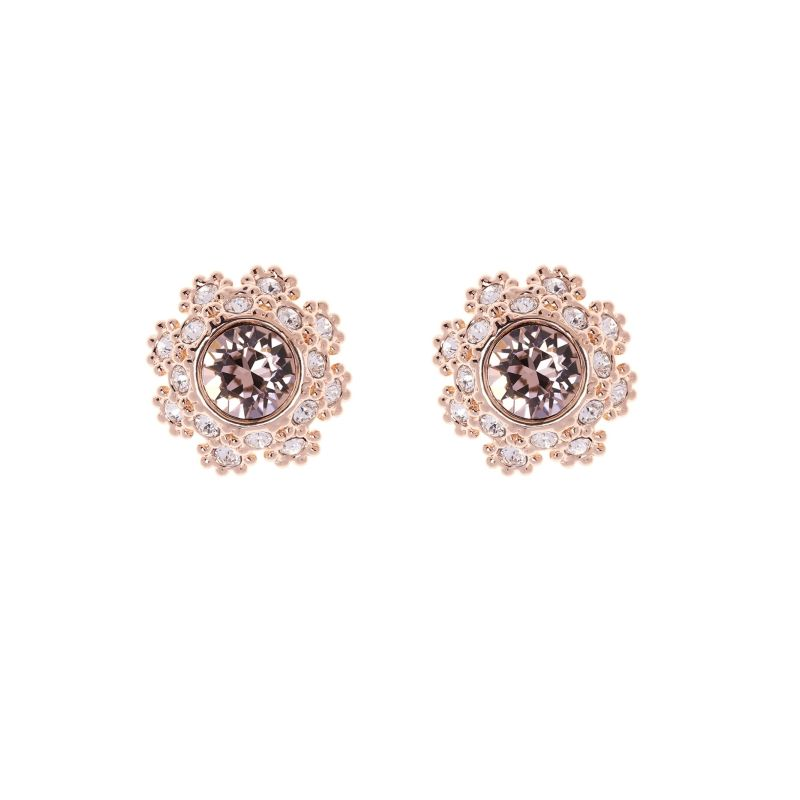 Ladies Ted Baker Gold Plated Seraa Crystal Daisy Lace Stud Earring from Ted Baker Jewellery