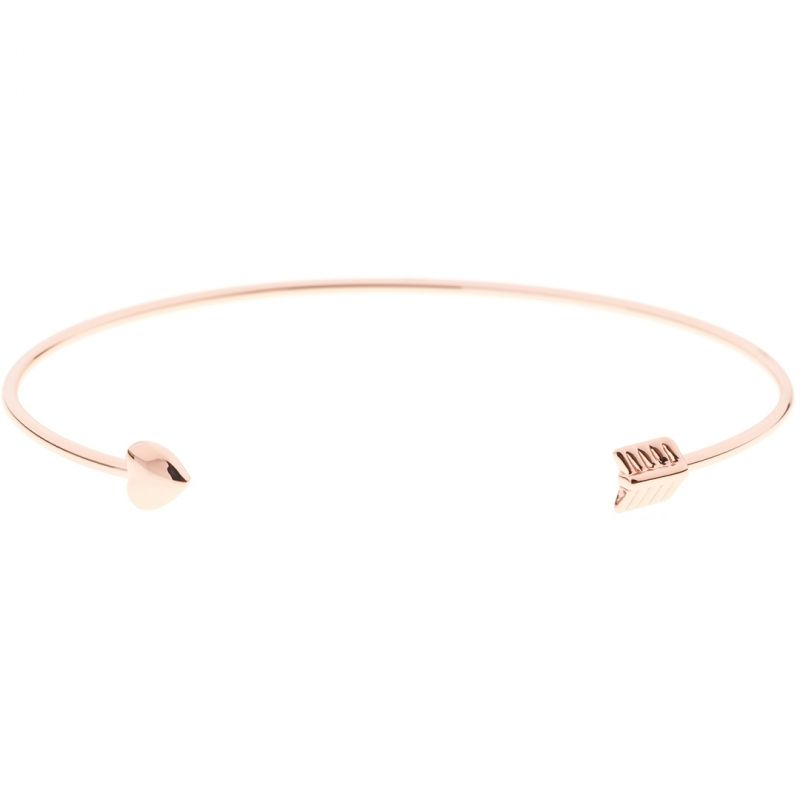 Ladies Ted Baker PVD Gold plated CARISE CUPIDS ARROW ULTRA FINE CUFF from Ted Baker Jewellery