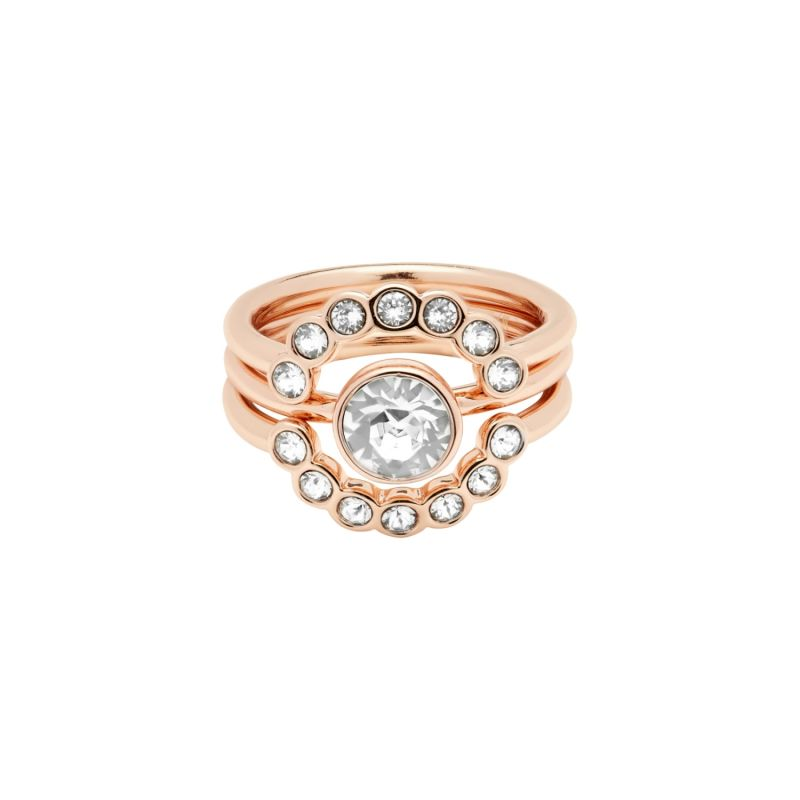 Ted Baker Jewellery Cadyna Concentric Crystal Ring Size O from Ted Baker Jewellery