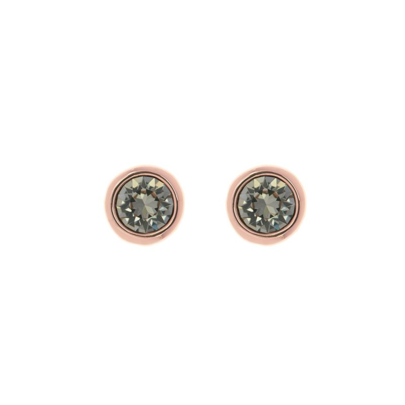 Ladies Ted Baker Rose Gold Plated Sinaa Crystal Stud Earring from Ted Baker Jewellery