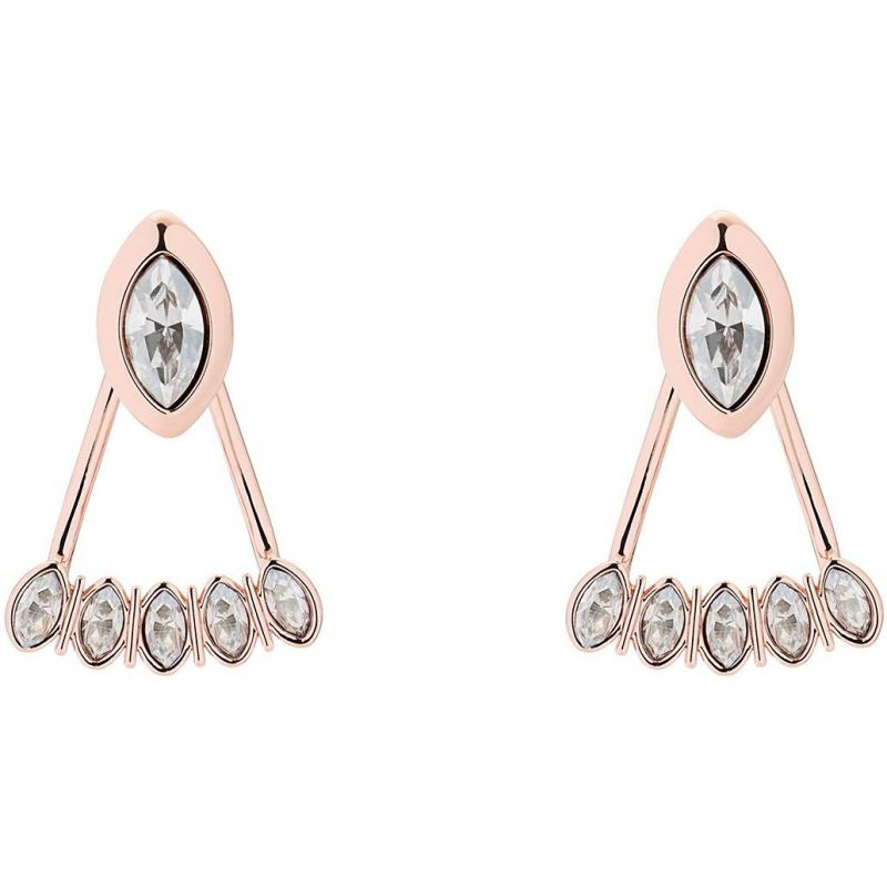 Ladies Ted Baker Rose Gold Plated Vinista Earrings from Ted Baker Jewellery